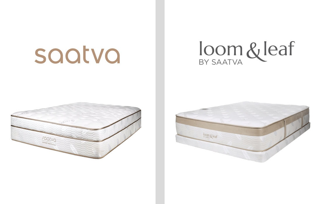 Saatva and Loom-leaf