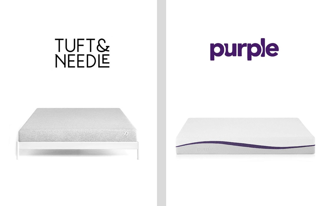 Tuft Needle and Purple