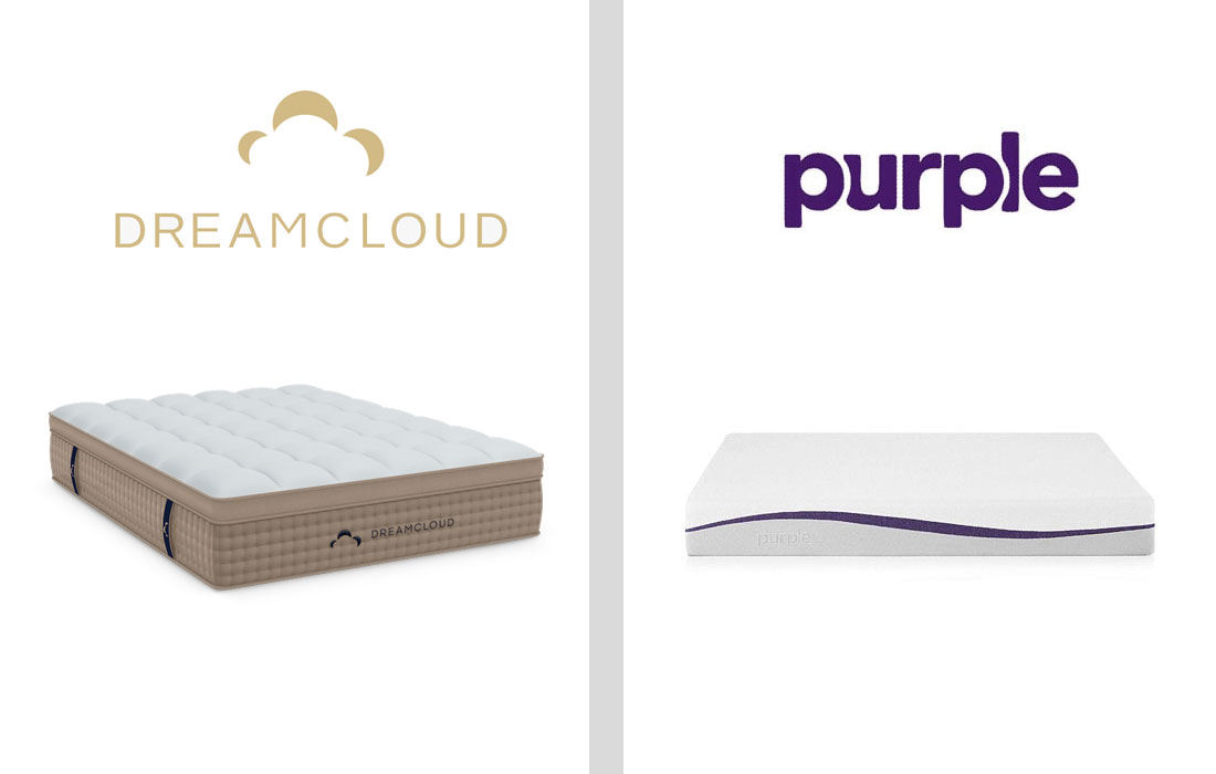 dreamcloud vs purple